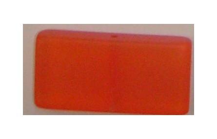 Rectángulo 50mm Naranja trans