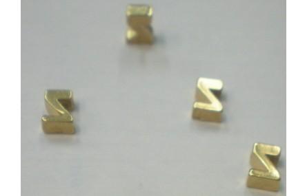 Letra Z 7*6*2 Oro