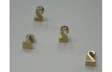 Número 2 7*6*2 Oro
