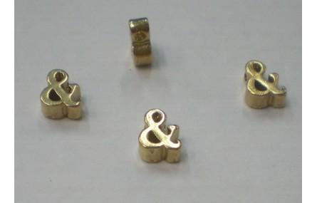 Símbolo & 7*6*2 Oro