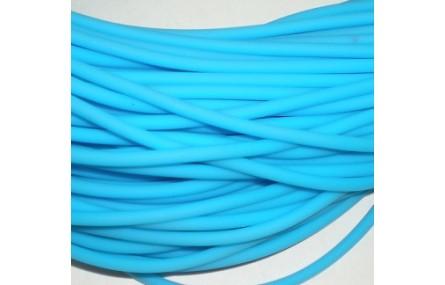Hilo caucho 3mm Azul