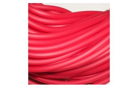 Hilo caucho 3mm  Rojo