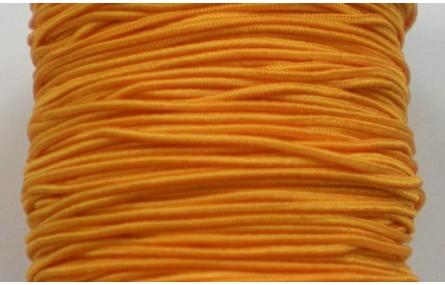 Cordón goma 1mm Naranja