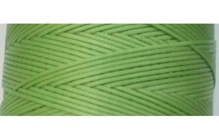 Hilo algodón encerado plano Verde hierba