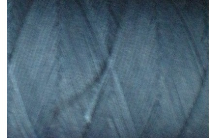 Hilo algodón encerado plano Azul marino