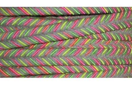 Cordón plano 10mm*4mm mezclado fluor