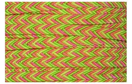 Cordón 6mm*3mm fluor 3 colores