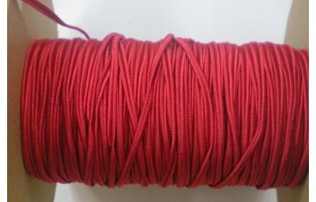 Soutache 3mm Rojo
