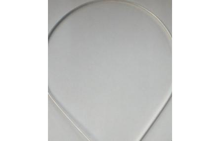 Diadema 3mm metal plata