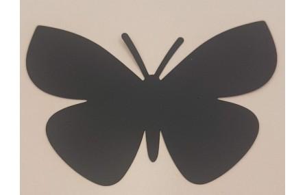 Mariposa lámina Latón 80*55 NEGRA