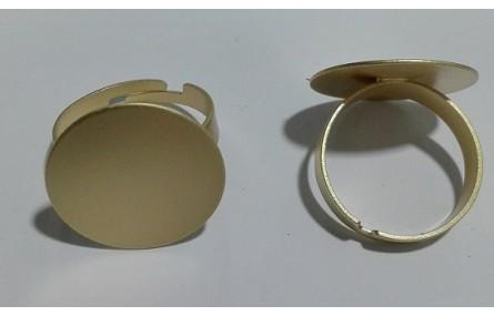 Anillo con disco de 20mm diametro