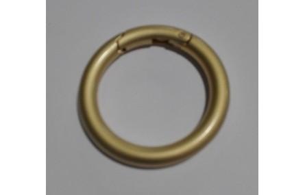 Cierre anilla 43mm Oro Mate