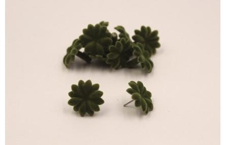 Flor 18mm atercionalada Verde