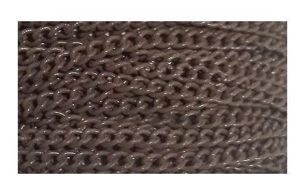 Cadena eslabones 2,2mm Marrón