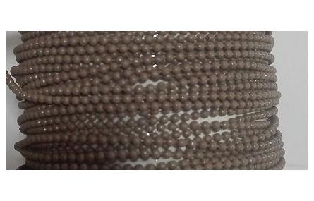 Cadena Bolas 1,2mm Marrón