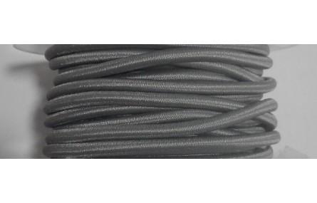 Cordón Goma Alta Calidad 3mm GRIS