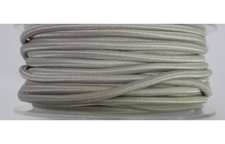 Cordón Goma Alta Calidad 3mm Gris-Beige