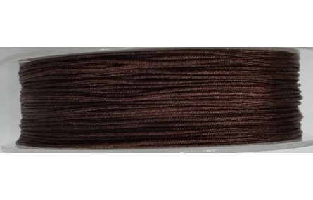 Hilo Macramé 1mm marrón