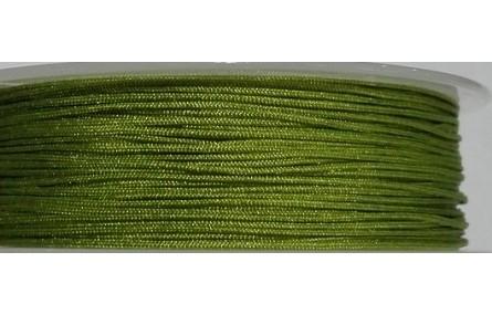 Hilo Macramé 1mm verde hierba