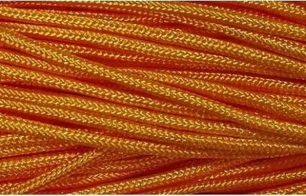 Cordón trenzado Driza 2mm Naranja