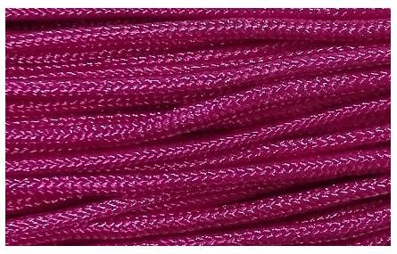 Cordón trenzado Driza 2mm Fuxia