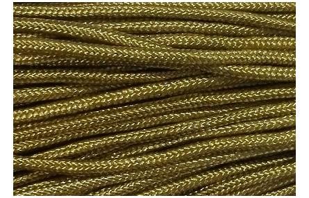 Cordón trenzado Driza 2mm Verde Kaki