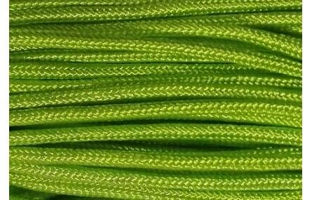 Cordón trenzado Driza 2mm Verde Fluor