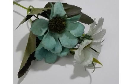Ramillete flores 4 a 5cms diametro Verdes