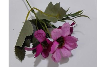 Ramillete flores 4 a 5cms diametro Rosa Fuerte
