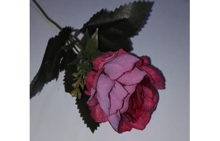Flor tupida 5cms diámetro Granate