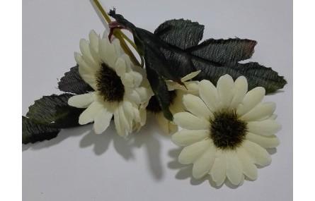Ramilete Margaritas 4 a 5cms diámetro Beige