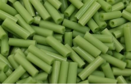 10 gramos Canutillo 6mm verde
