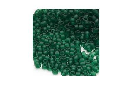 Bolsa de 4grs Delica 11/0 Matted Transp Dk.Green